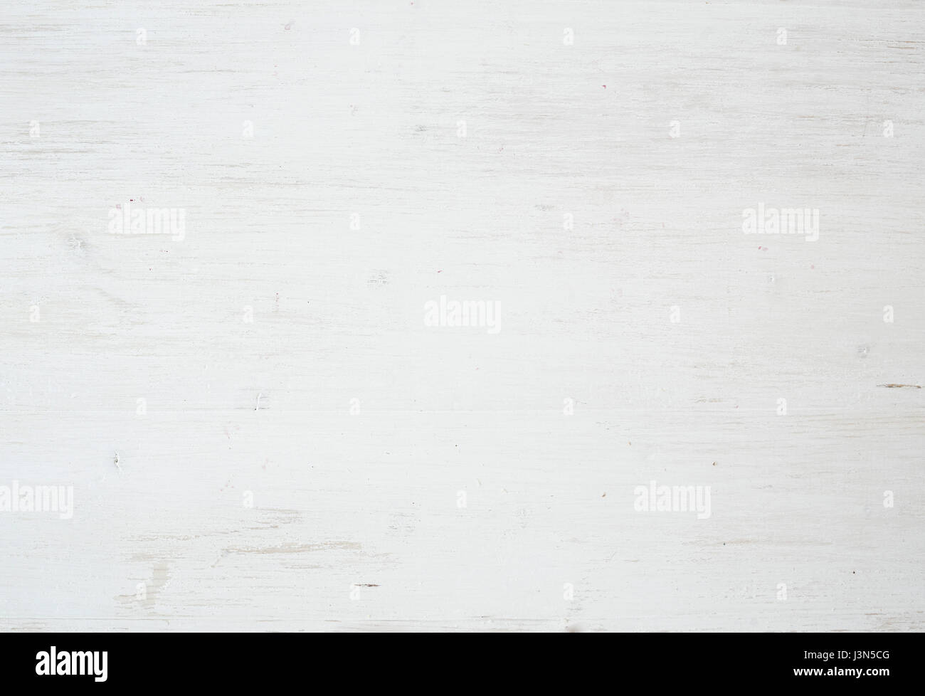 Wooden texture, white wood background with kitchen napkin, horizontal - Stock Image
