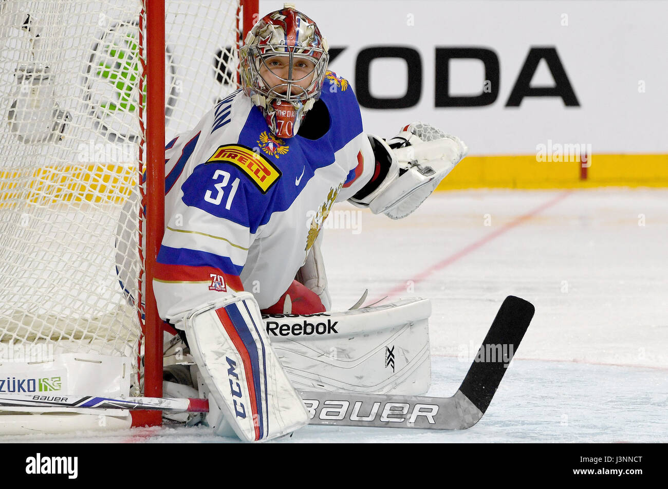 Russian Goalkeeper Stock Photos   Russian Goalkeeper Stock Images ... ca77ec9df