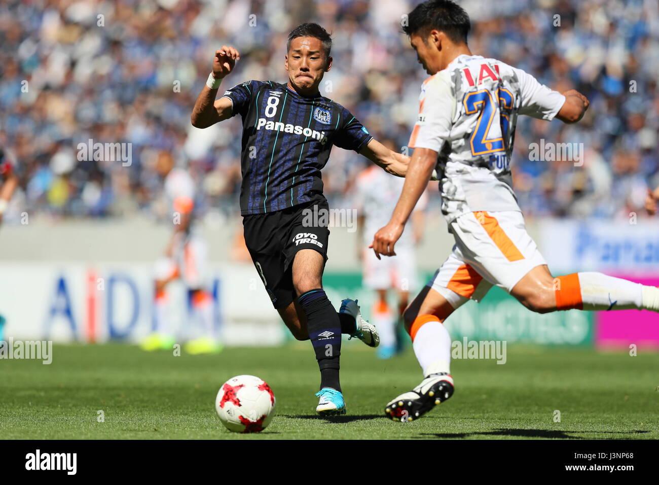 Yosuke Ideguchi Gamba May 5 2017 Football Soccer 2017 J1 Stock Photo Alamy