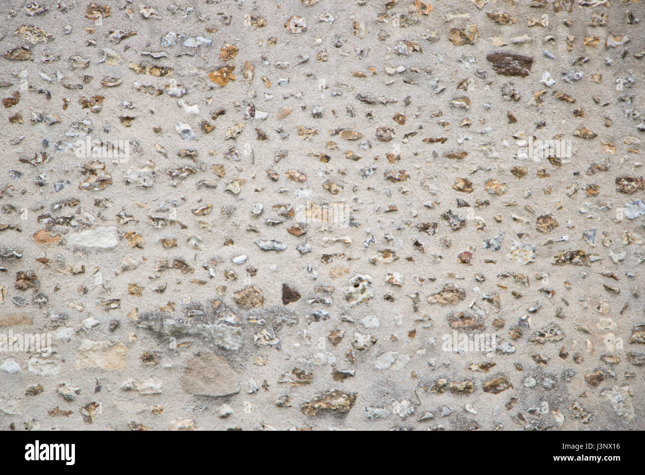 Stone and Cement Wall Texture - Stock Image