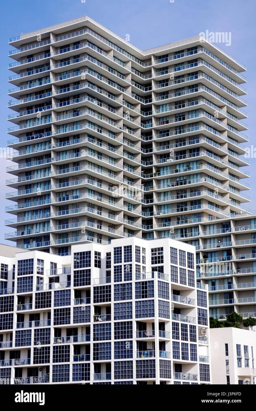 Miami Florida Midtown condominium condo apartments high rise ...