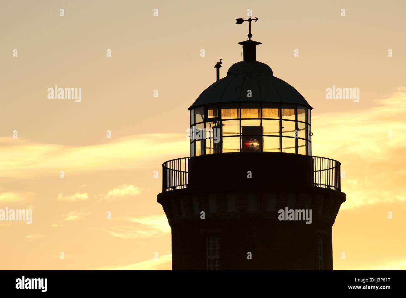 lighthouse of Cuxhaven/ Germany - Stock Image