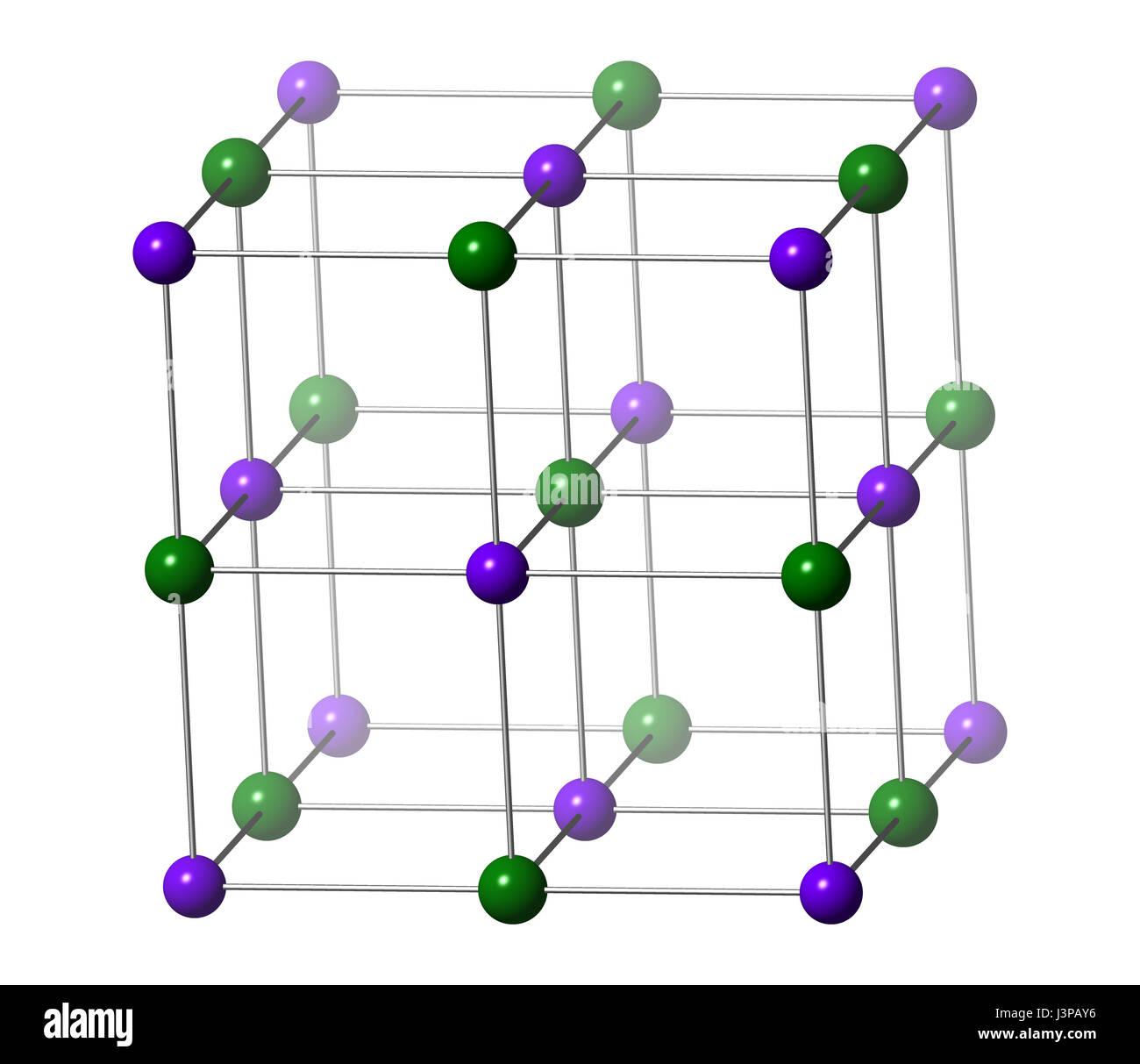 Potassium Atomic Structure Stock Photos Potassium Atomic