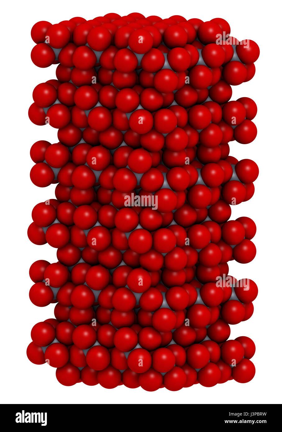 Corundum  Aluminium Oxide   Crystal Structure  Ruby Gems