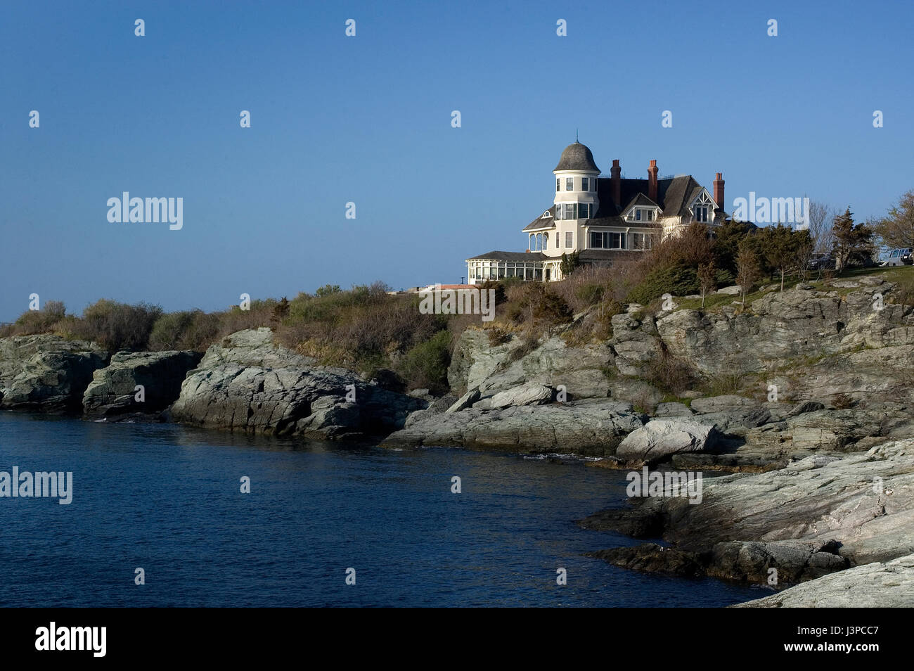 The Inn at Castle Hill - Newport, Rhode Island, USA - Stock Image