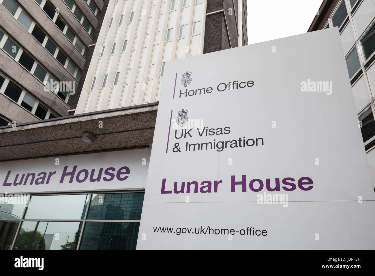 The Home Office UK Visas & Immigration Office at Lunar House in ...