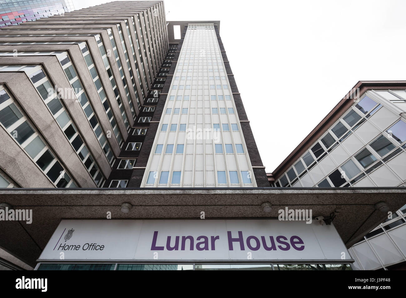 The Home Office UK Visas & Immigration Office at Lunar House in Croydon London, UK. - Stock Image