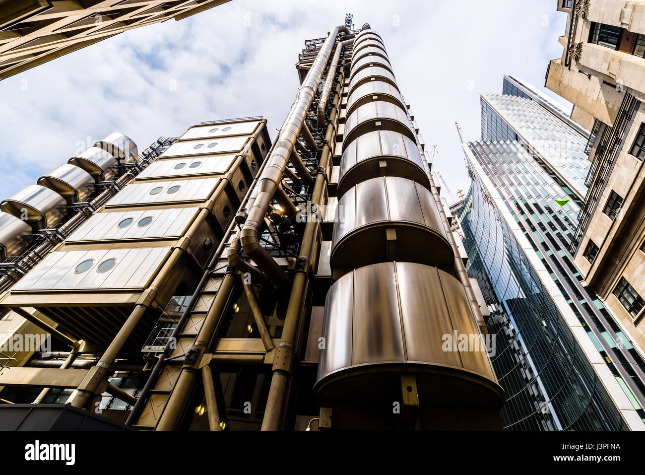 Lloyds building  London - Stock Image