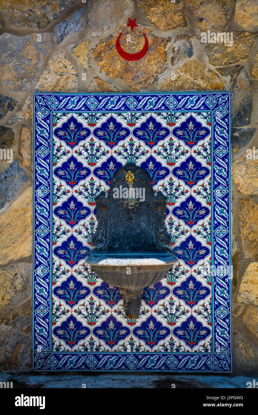 Water fountain in Turkey Stock Photo