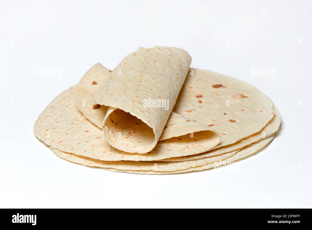 Tortilla, Tortillas, mexikanisch, mexikanische - Stock Image