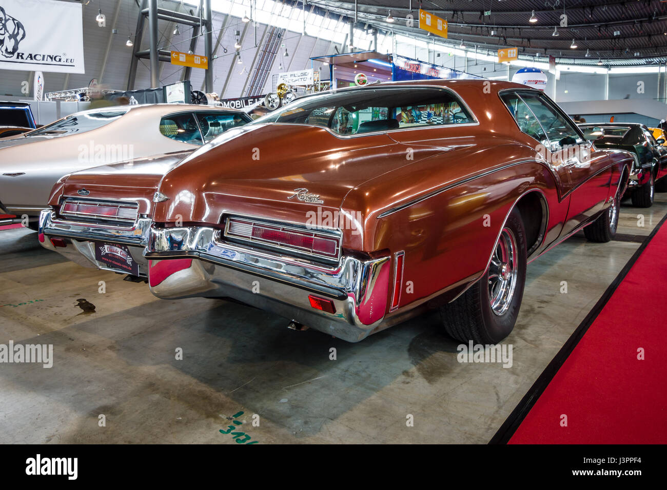 Buick Car Back Stock Photos Images Alamy 1950s And 1960s Riviera Stuttgart Germany March 03 2017 Personal Luxury 1972