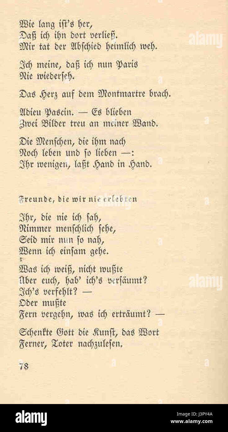 Joachim Ringelnatz 103 Gedichte 78 Stock Photo 140031146