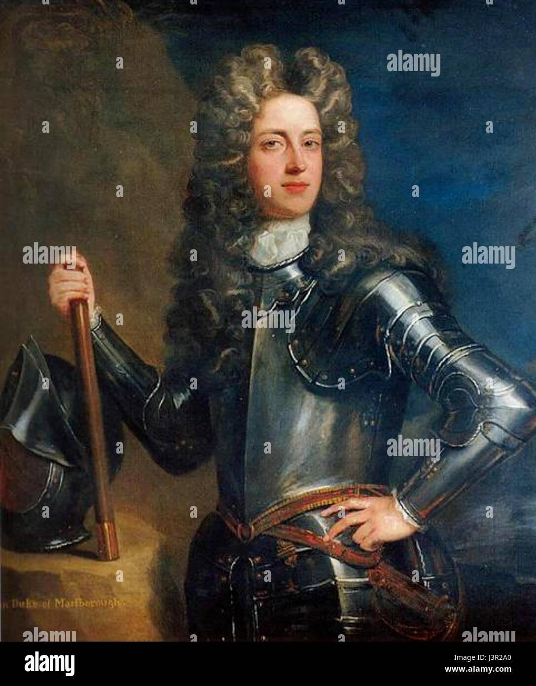 John churchill first duke of marlborough - Stock Image
