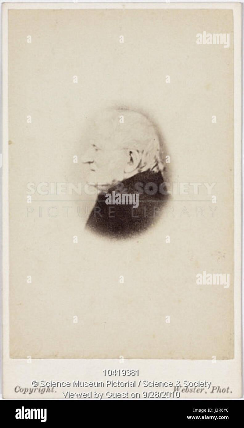 John Dalton Carte De Visite Circa 1840