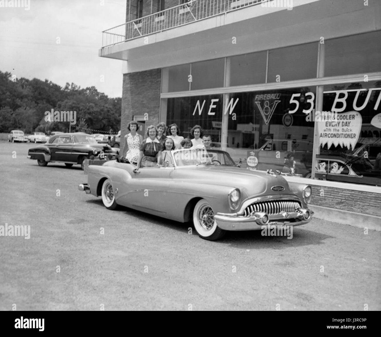 Historic Car Dealership Stock Photos & Historic Car