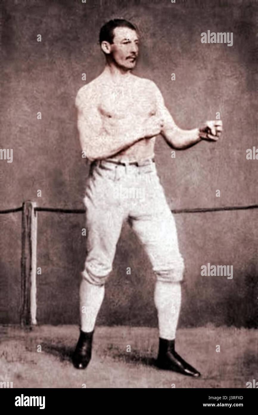 John C Heenan c1860 - Stock Image