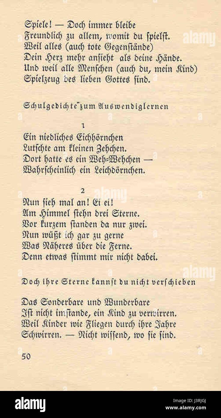 Joachim Ringelnatz 103 Gedichte 50 Stock Photo 140046386