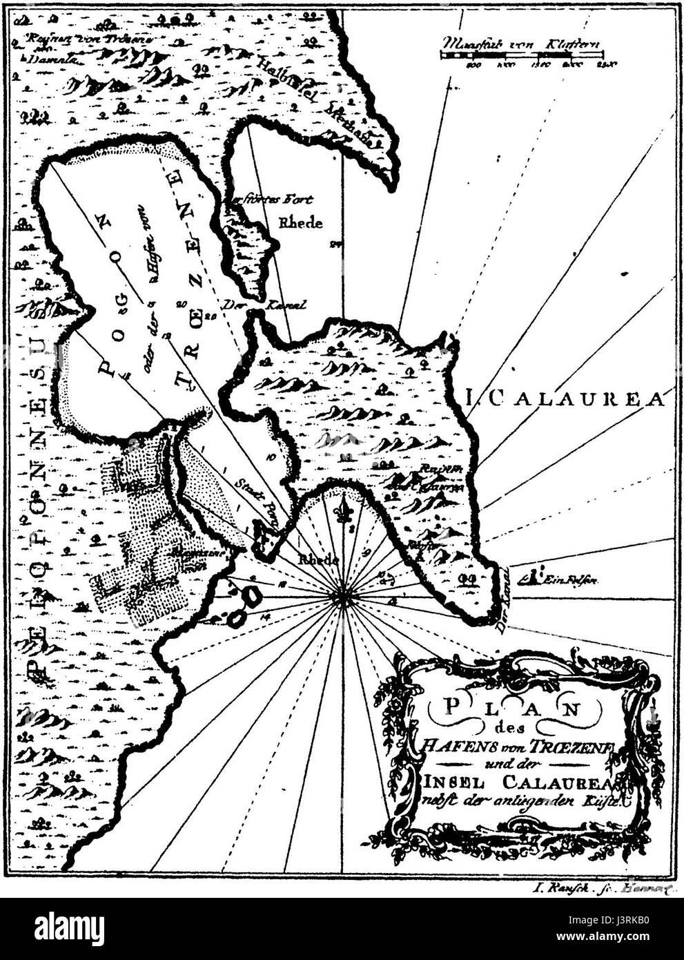 Insel Calaurea 1 - Stock Image