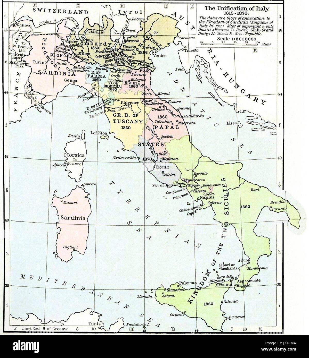 Rieti Italy Map.Italy 1815 Map Stock Photos Italy 1815 Map Stock Images Alamy