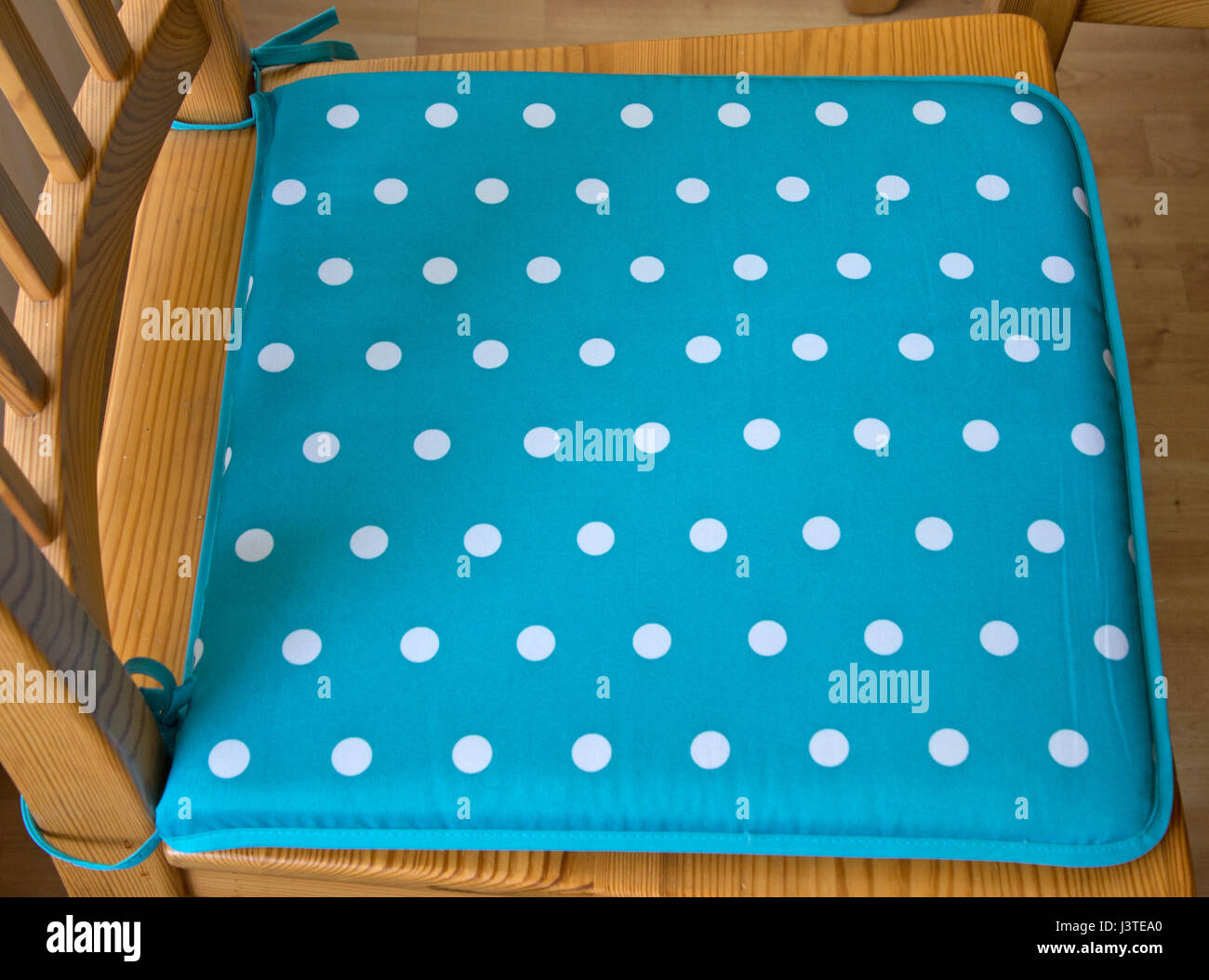 Chair cushion cover - Stock Image