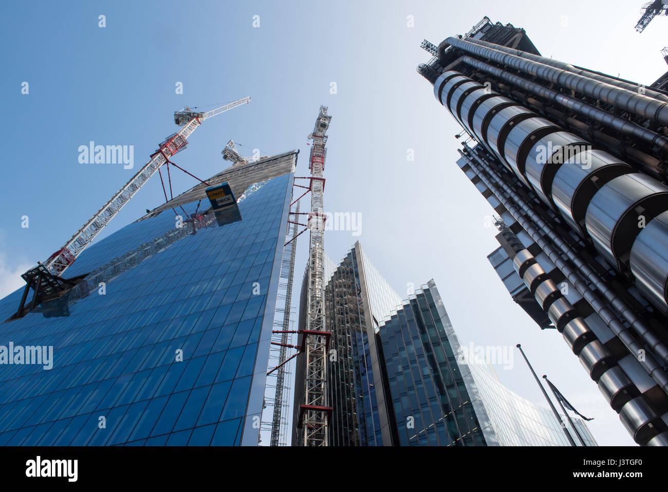 Lloyds building  London - Stock Image