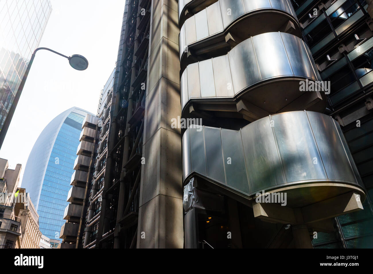 Lloyds building  London Stock Photo