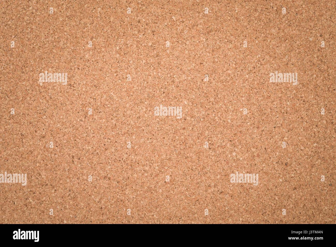 Empty Cork Board Texture - Stock Image