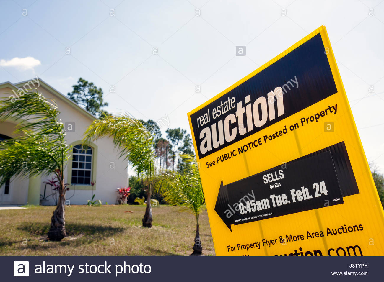 Port St Lucie Florida Saint House Single Family Home New Stock