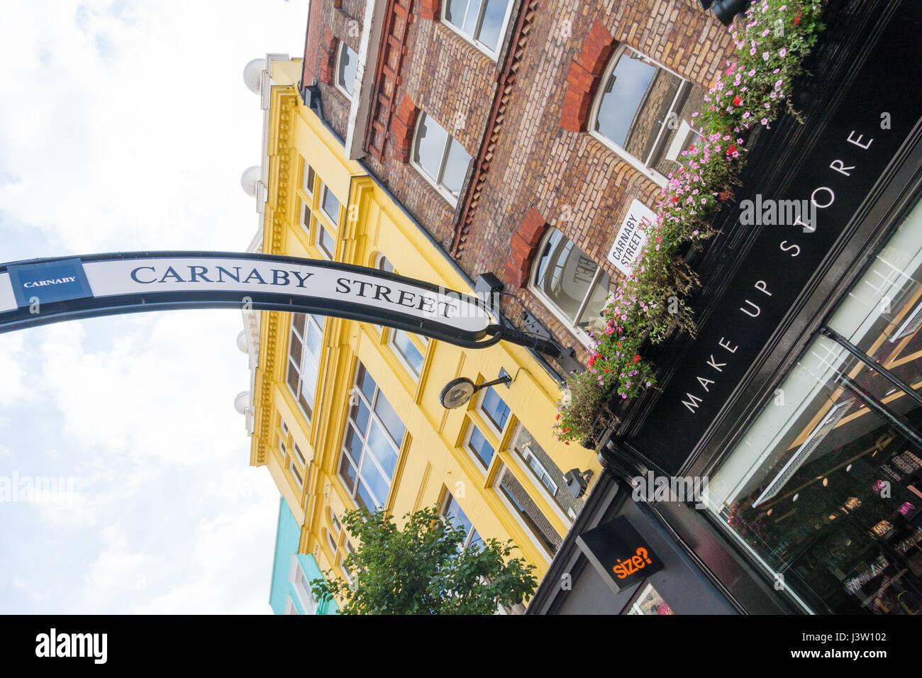 Carnaby street, London, England - Stock Image