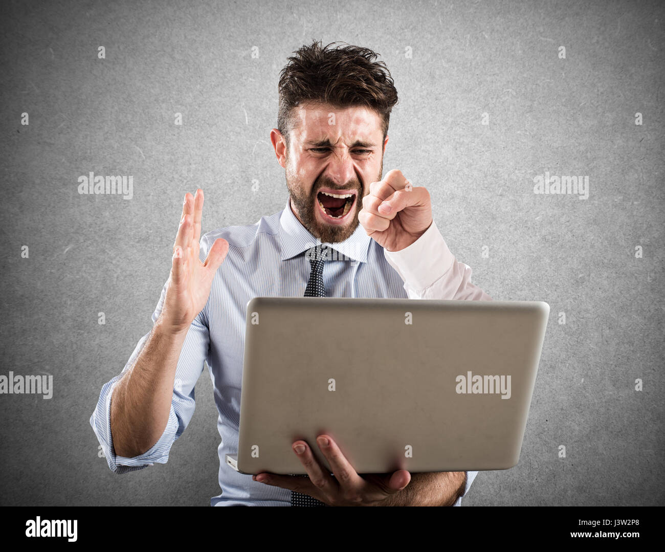 Cyber bullying - Stock Image