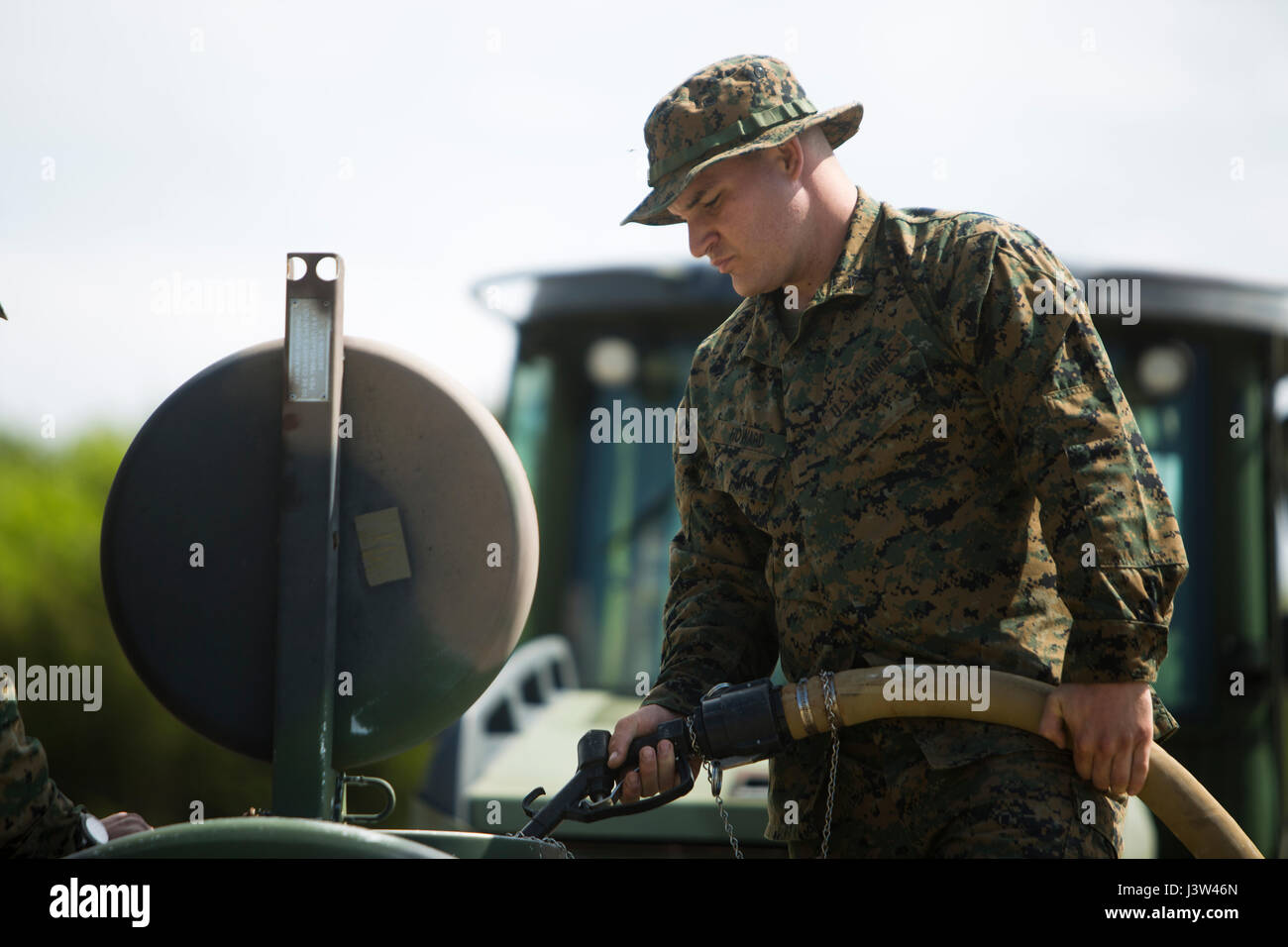 CAMP LEJEUNE, N.C. – Lance Cpl. Daniel M. Howard, basic electrician ...