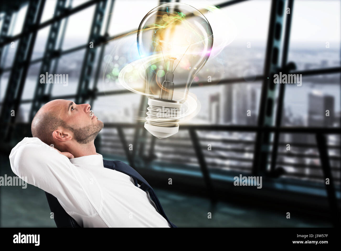 Great business idea concept - Stock Image
