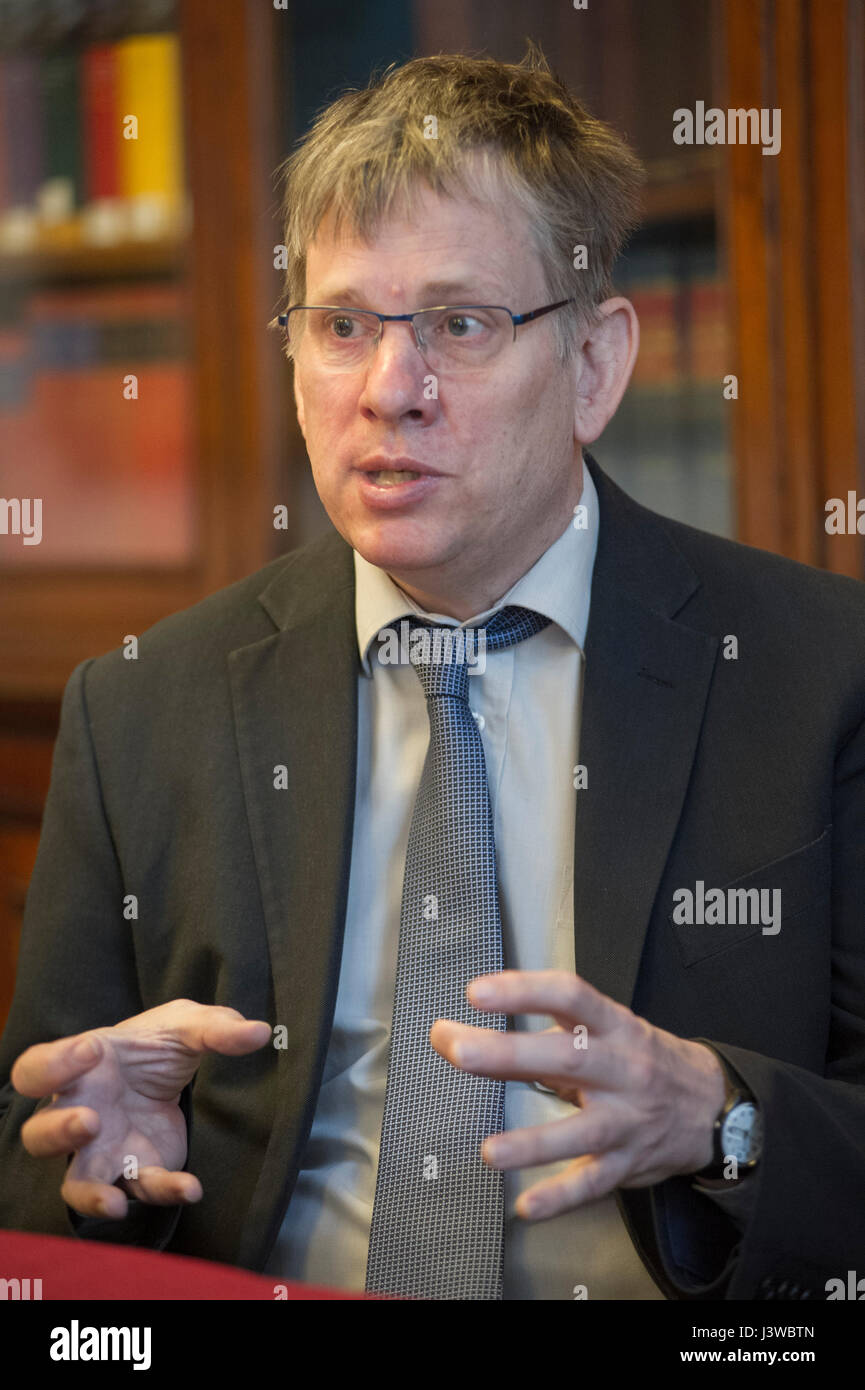 Alex Vines OBE - Head of Chatham House Africa programme - Stock Image