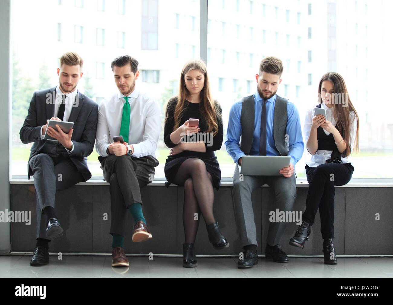 Business Team Office Worker Entrepreneur Concept - Stock Image