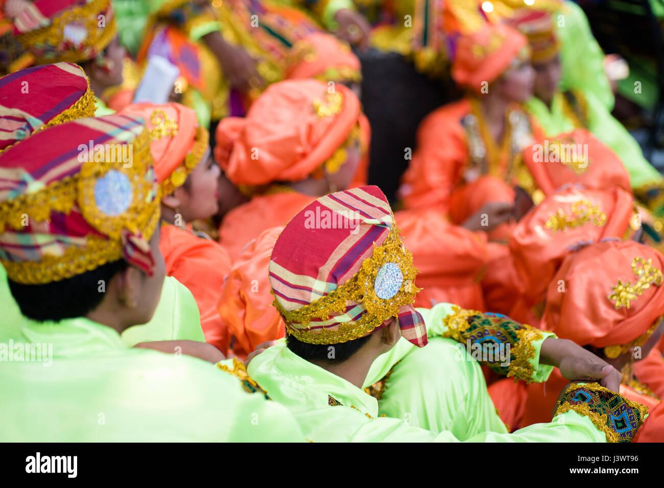 Aliwan Festival 2017, Pasay City, Philippines. - Stock Image