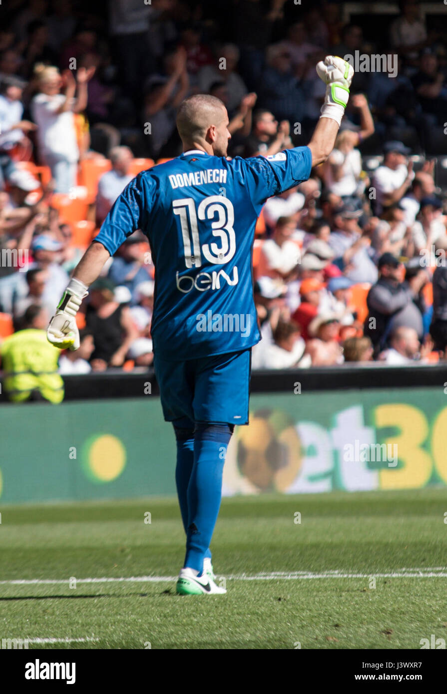 13 Jaume Domenech Of Valencia Cf During The Spanish La Liga Santander Stock Photo Alamy