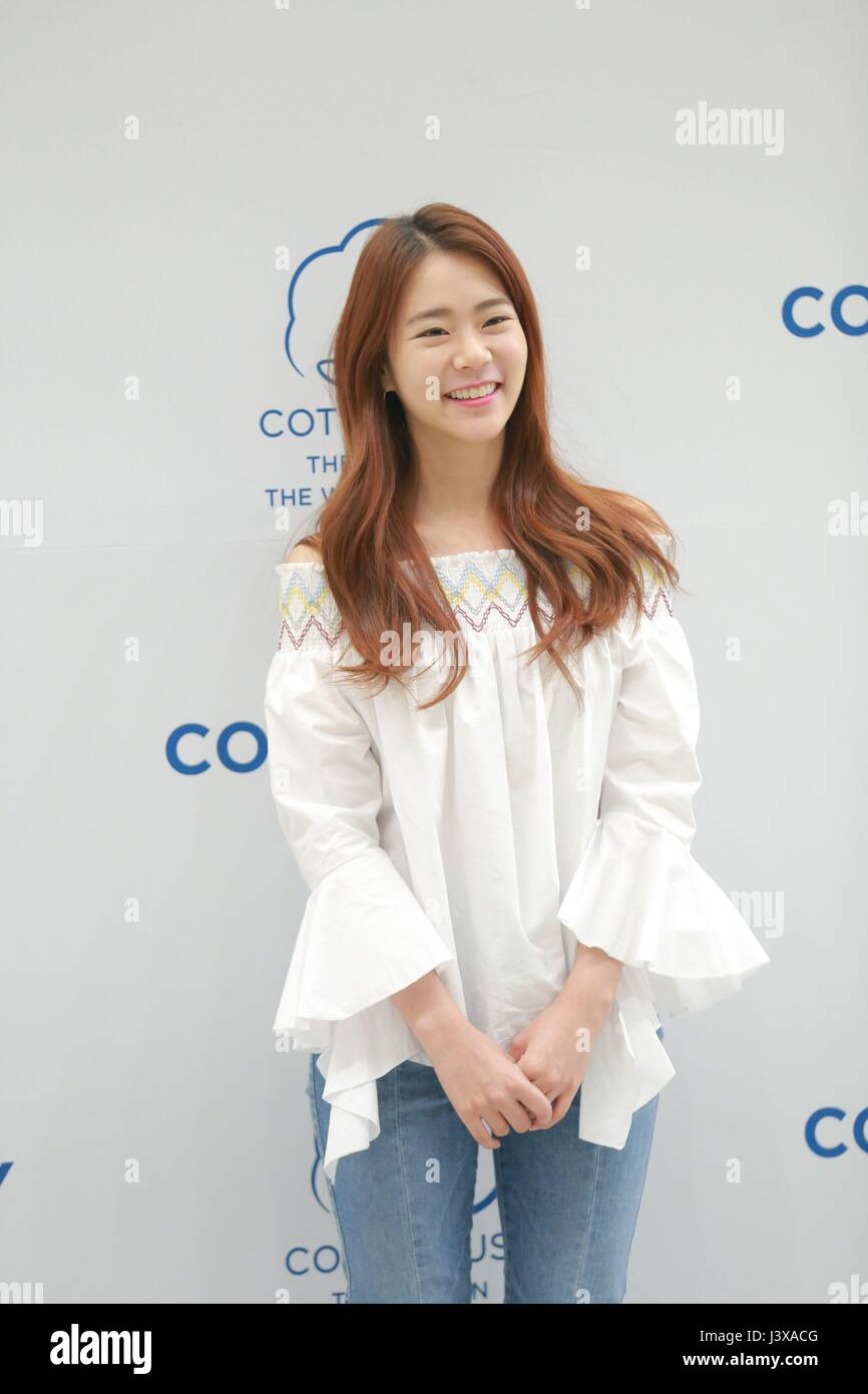 Seoul Korea 08th May 2017 Han Seung Yeon Attends Cotton Day 2017
