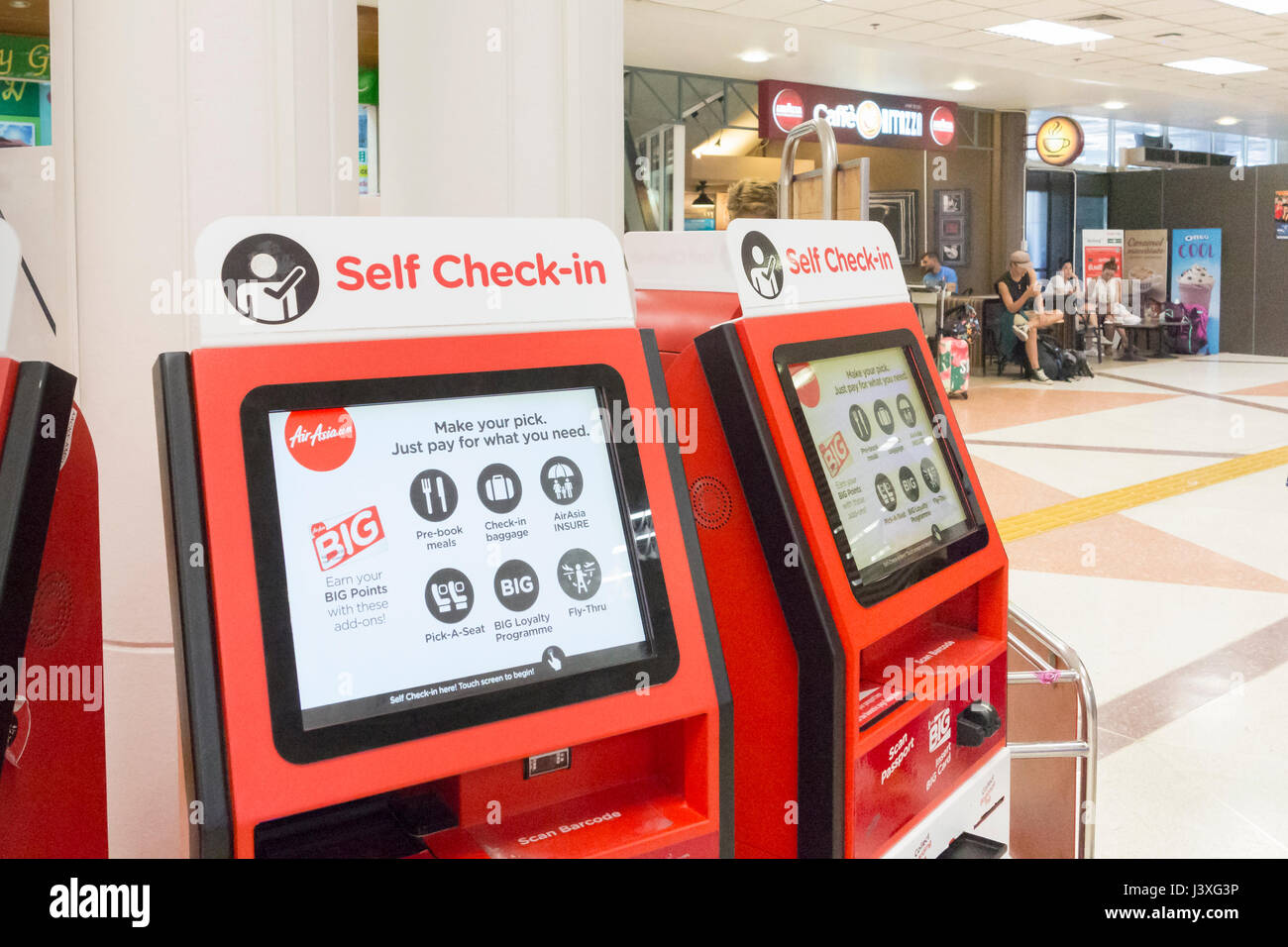 Online check in air asia