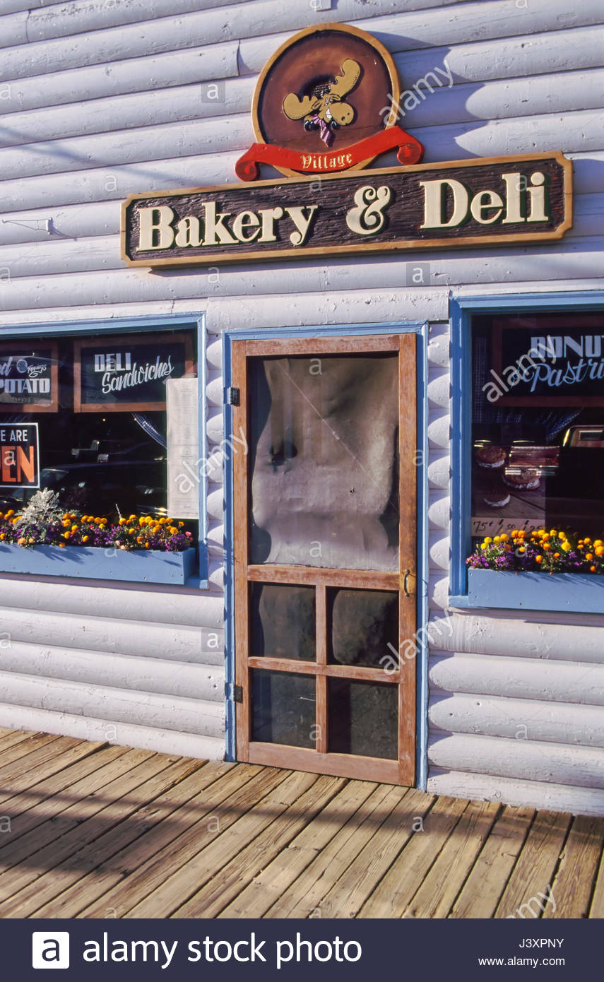 Screen Door Of The Village Bakery And Deli Grand Lake Grand County