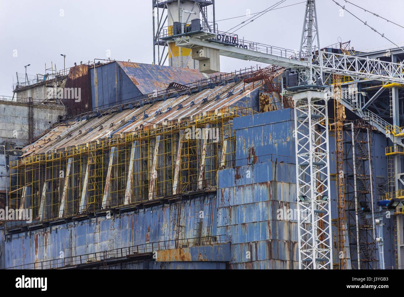 Chernobyl Reactor No 4 Stock Photos & Chernobyl Reactor No 4