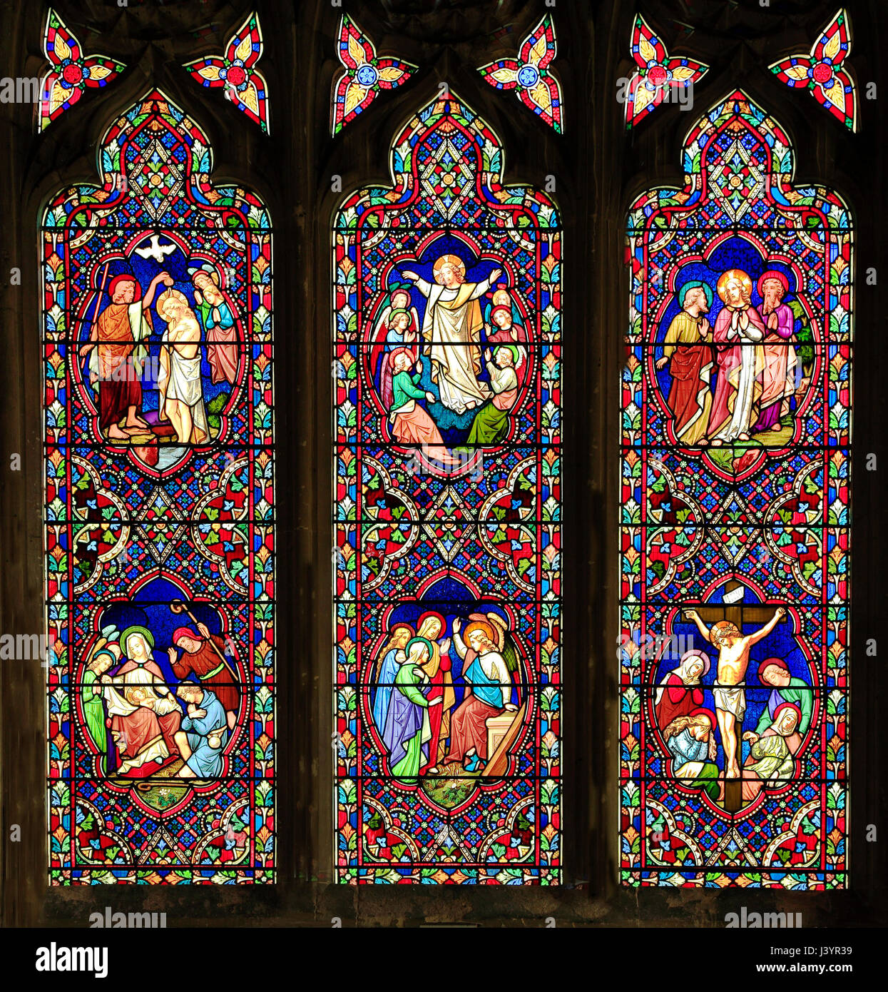 ad3d396d6754 Stained Glass window by Ward   Hughes