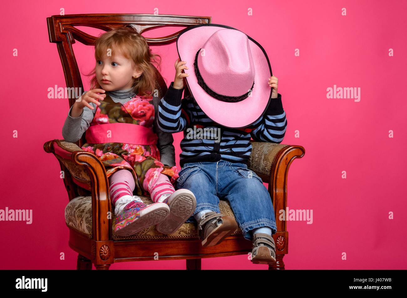 5ceed47455e1c Little Boy Wearing Cowboy Hat Stock Photos   Little Boy Wearing ...