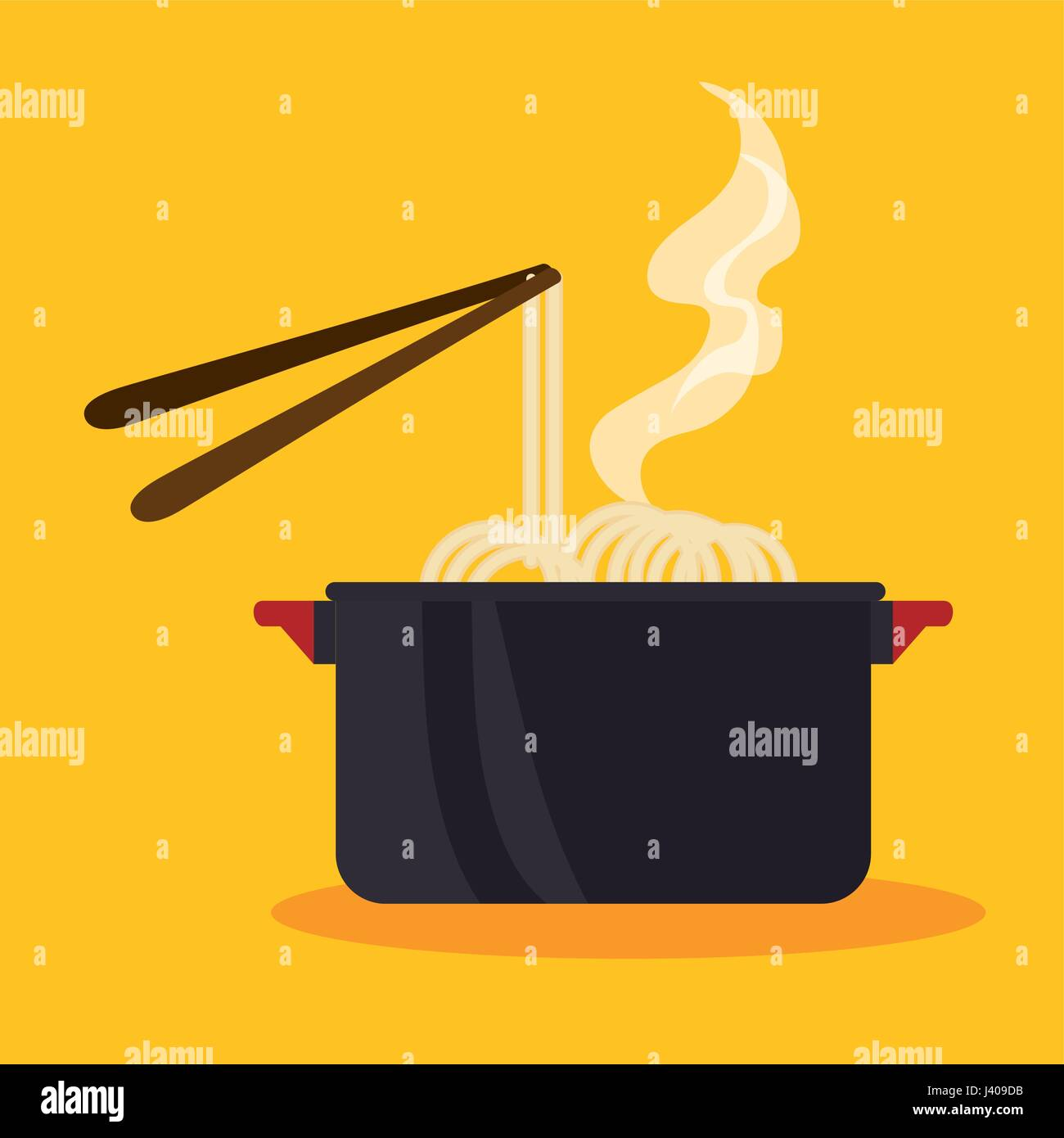 Cooking pot icon - Stock Vector