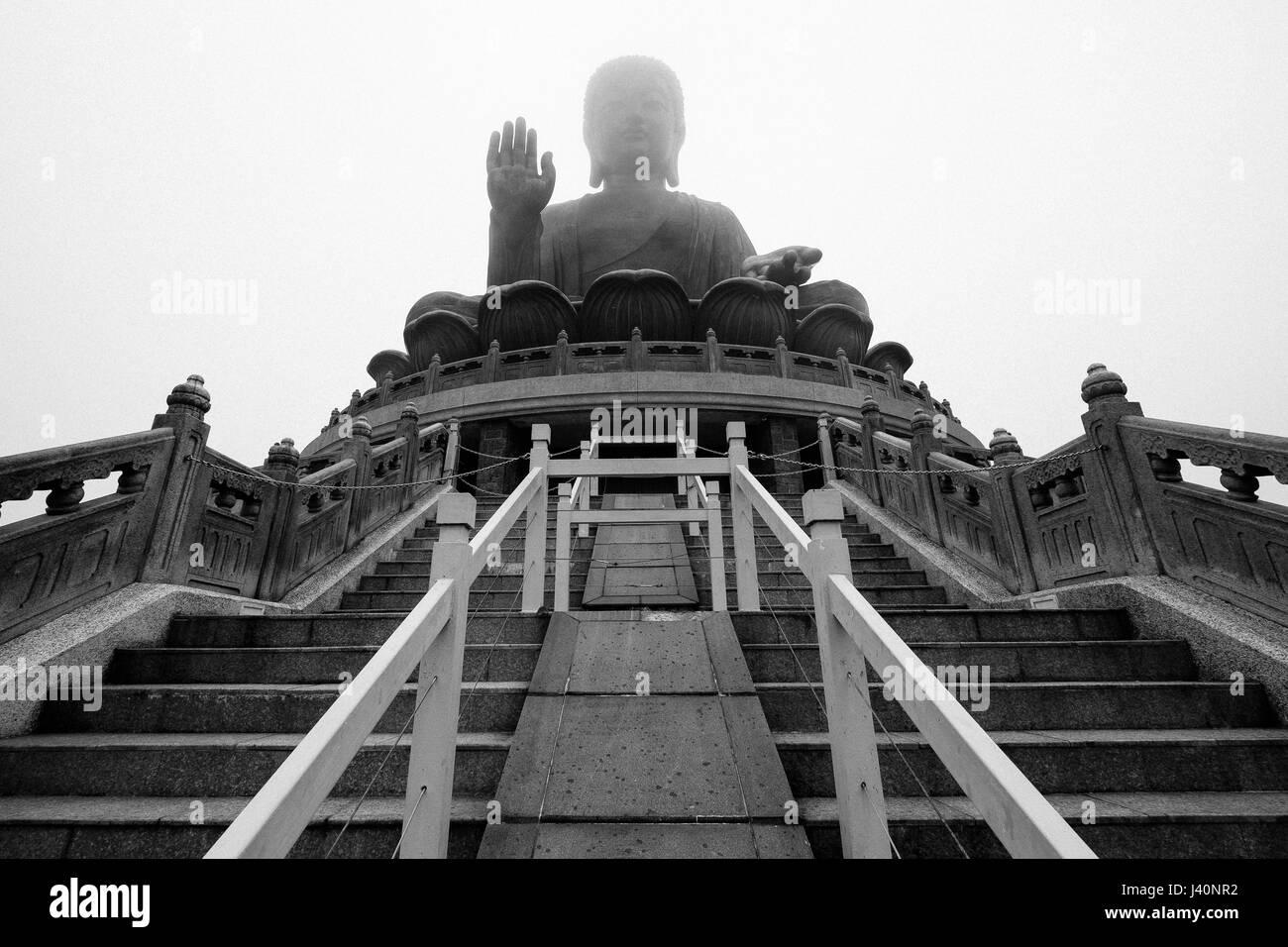 Big Buddha - Stock Image