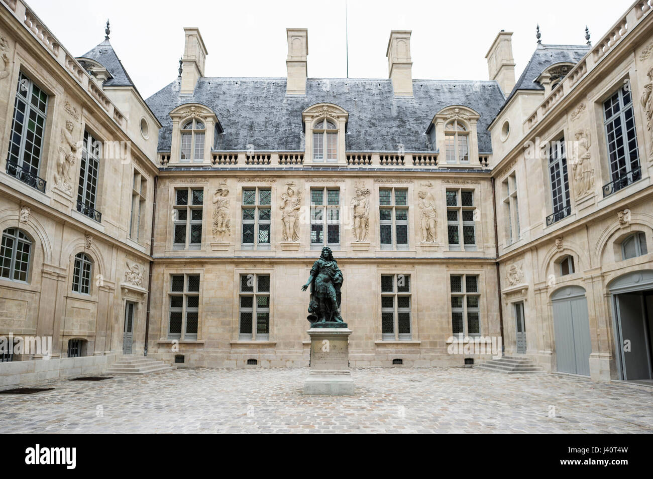 Museum Carnavalet, Marais, Paris, Ile-de-France, France - Stock Image