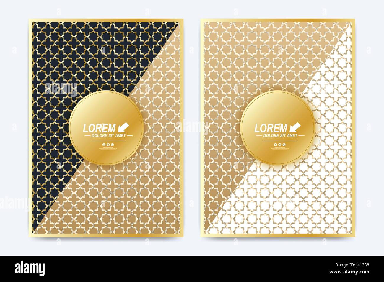 Modern Vector Template For Brochure Leaflet Flyer Advert Cover