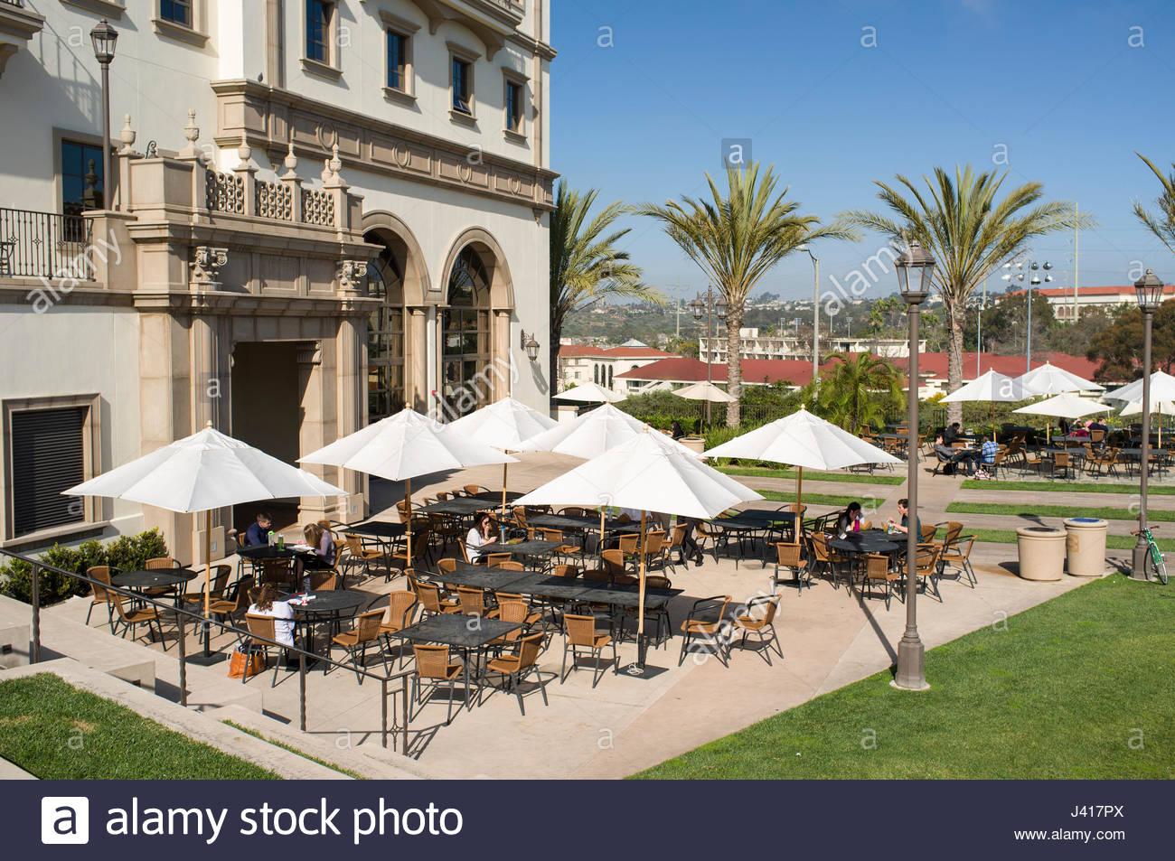 Student Life Pavilion, University of San Diego, San Diego, California, USA - Stock Image