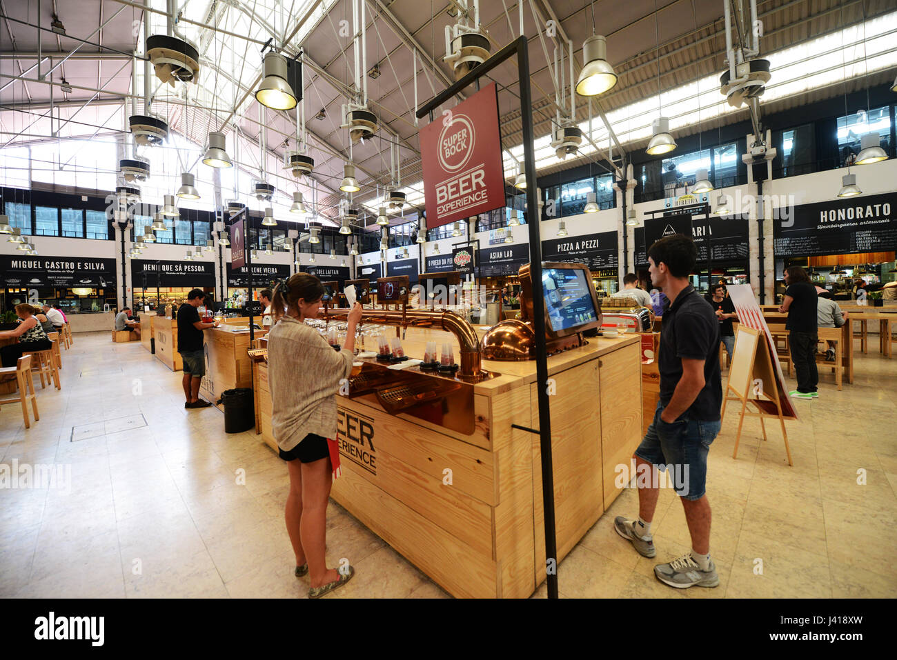Time Out Market Lisboa is a food hall located in the Mercado da Ribeira at  Cais do Sodre in Lisbon d6870161d8950