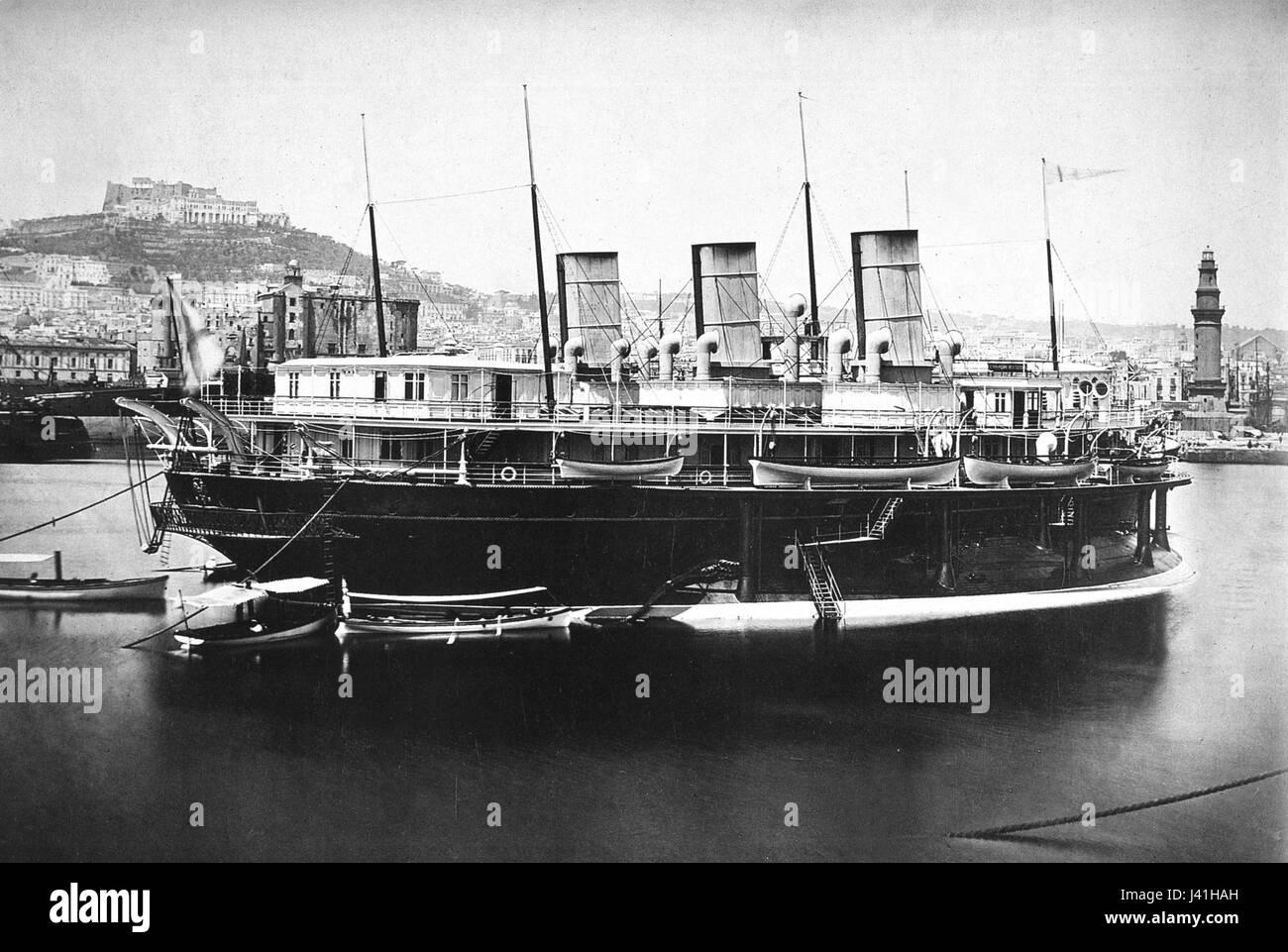 Livadiya yacht - Stock Image