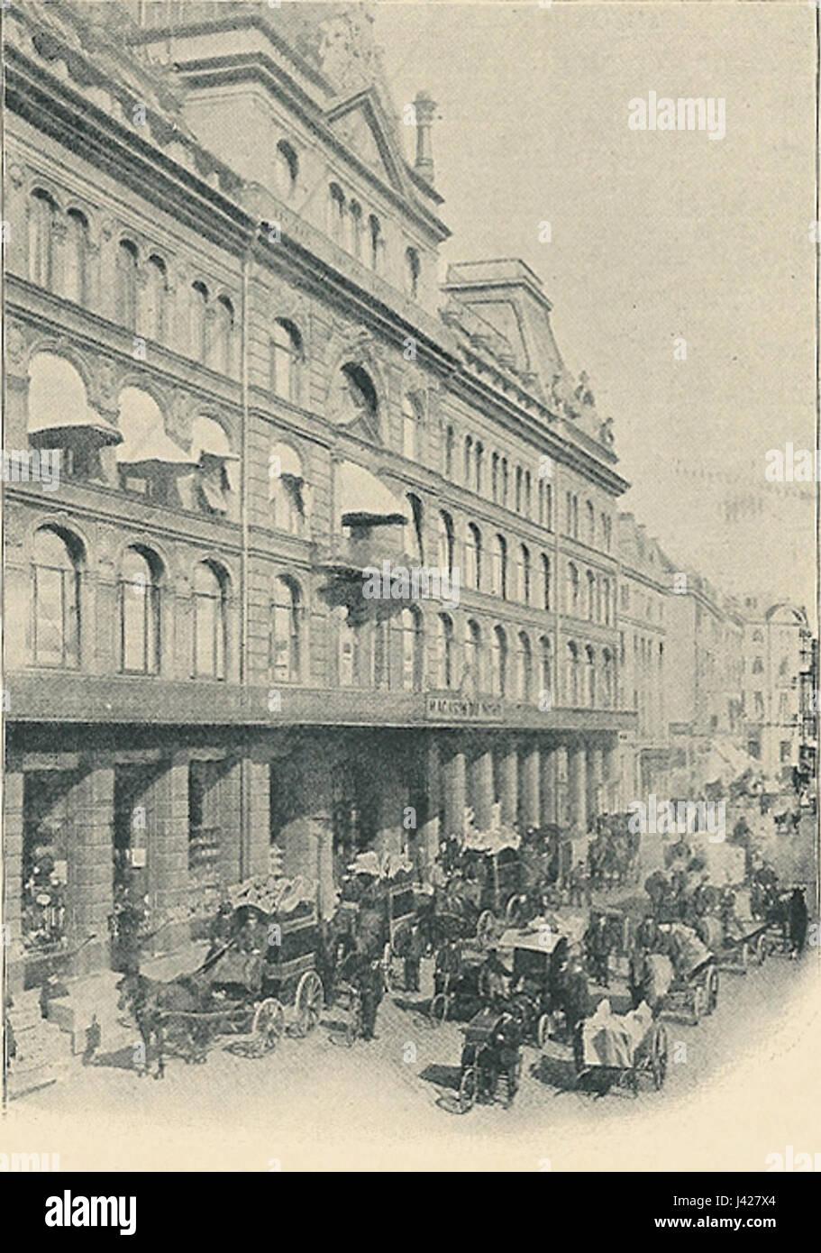 Magasin du Nord facade - Stock Image